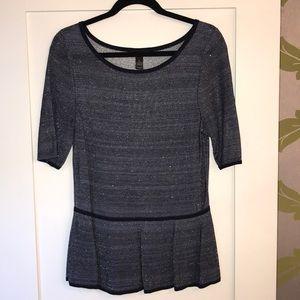 Sparkle knit top